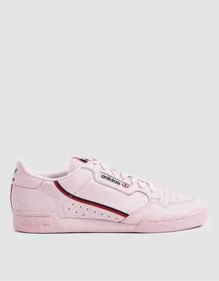 adidas Continental 80 Sneaker in Clear Pink