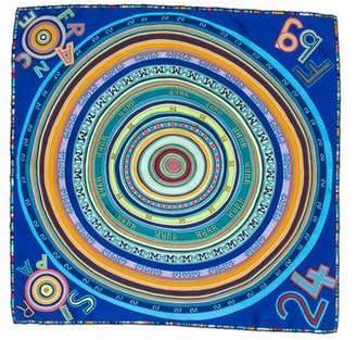 Hermes Tohu Bohu Silk Pochette