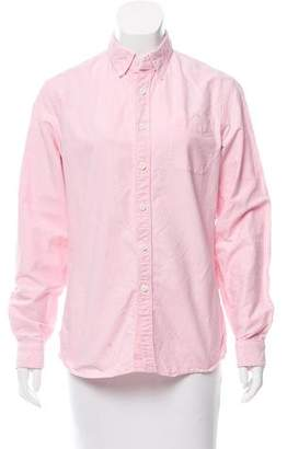 Todd Snyder Button-Up Collared Top