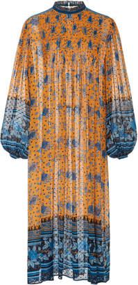 Ulla Johnson Prisma Silk Midi Dress