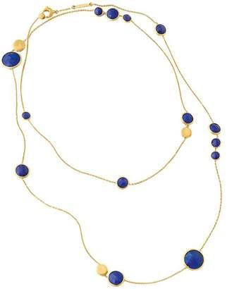 "Marco Bicego Jaipur Lapis Necklace, 36"""