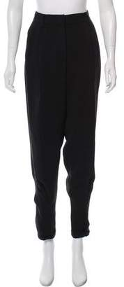 Giorgio Armani High-Rise Pleated Pants