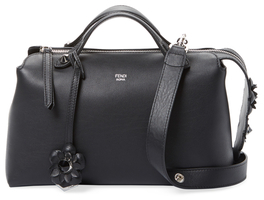 FendiBy The Way Floral Leather Satchel