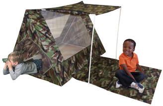Camo Kid's Adventure Fort Play Tent Set
