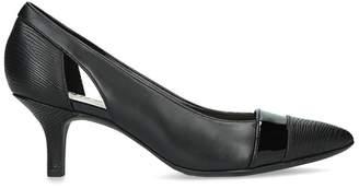Anne Klein - Black 'Firstclass' Kitten Heel Court Shoes