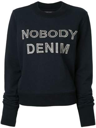Nobody Denim Nobody Favourite Sweat Alpha