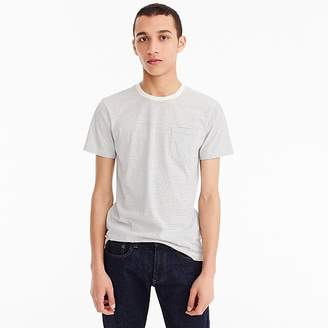 J.Crew Mercantile Broken-in T-shirt in light grey stripe