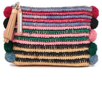 Loeffler Randall Rainbow Straw Pouch