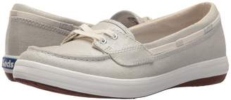 Keds Glimmer Metallic Linen Women's Moccasin Shoes