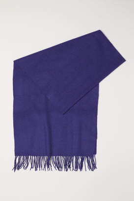 H&M Wool Scarf - Blue