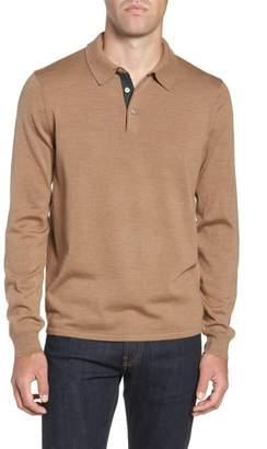 Nordstrom Merino Wool Polo Sweater