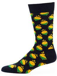 Men's Lime Socks
