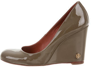 Tory BurchTory Burch Patent Wedge Pumps