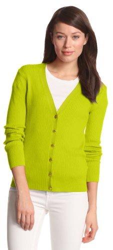 Anne Klein Women's V-Neck Cardigan Sweater