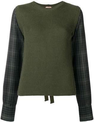 No.21 tie back jumper