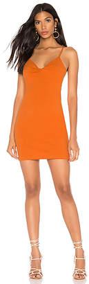 MinkPink Noida Twist Front Mini Dress