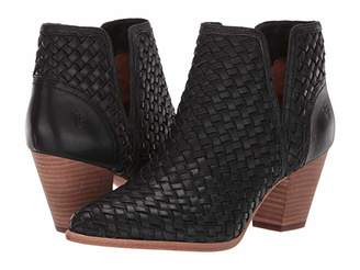 Frye Reed Cut Out Woven Bootie