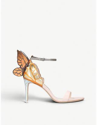 Sophia Webster Chiara appliquéd metallic-leather sandals