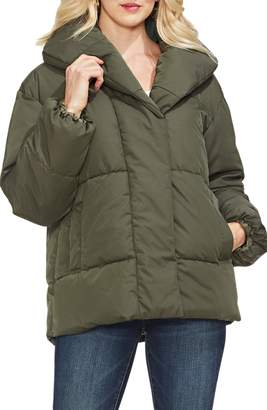 Vince Camuto Matte Quilted Puffer Jacket
