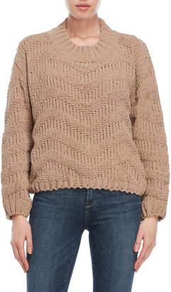 POL Chunky Crew Sweater