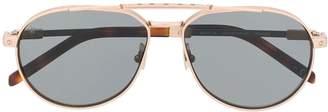 Hublot Eyewear aviator frame sunglasses