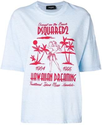 DSQUARED2 Hawaiian Dreaming T-shirt