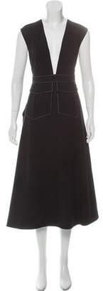 PARTOW A-Line Midi Dress