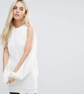 Glamorous Petite Relaxed Split Sleeve Sweater