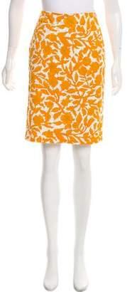 Tuleh Sequin-Embellished Floral Skirt