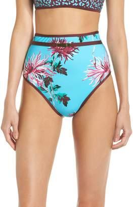 Diane von Furstenberg High Waist Bikini Bottoms