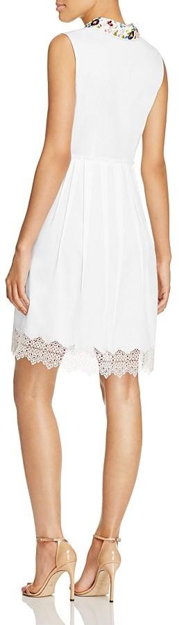 Elie Tahari Samiyah Embellished Dress 3