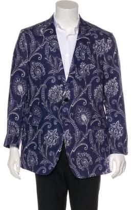 Etro Paisley Linen Sport Coat w/ Tags