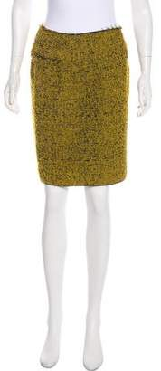 Marni Bouclé Knee-Length Skirt