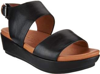 Kenneth Cole Gentle Souls By Gentle Souls Leather Platform Sandals - Lori