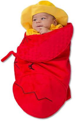 BuySeasons Swaddle Wings Lobster Fisherman Baby Costume