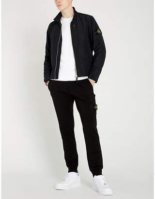 Stone Island High-neck zipped shell hoody