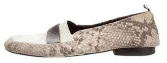 NewbarK Embossed Suede Loafers