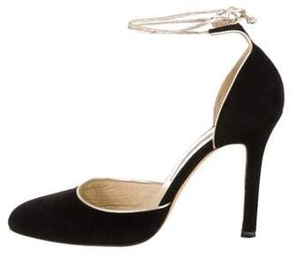 Brian Atwood Pointed-Toe D'Orsay Pumps