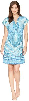 Hale Bob Modern Mosaic Microfiber Jersey Dress Women's Dress