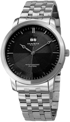 Akribos XXIV Akribos Xxix Men's Stainless Steel Watch
