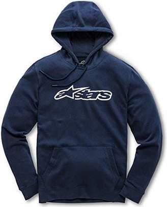 Alpinestars Men's Logo Fleece Full Zip Hoodie Modern Fit
