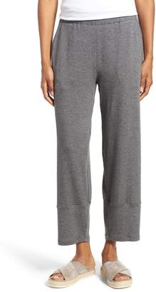 Eileen Fisher Terry Lantern High Rise Ankle Pants
