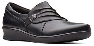 Clarks Hope Roxanne Leather Casual Shoes
