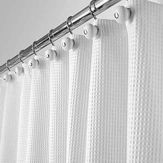 e47f6f39753 +Hotel by K-bros&Co mDesign Hotel Quality Polyester/Cotton Blend Fabric Shower  Curtain