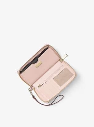 MICHAEL Michael Kors Snakeskin Smartphone Wristlet