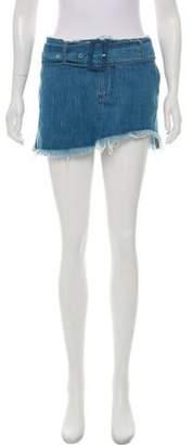 Marques Almeida Marques' Almeida Denim Mini Skirt