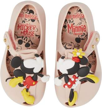 Mini Melissa Ultragirl Disney Twins Waterproof Mary Jane