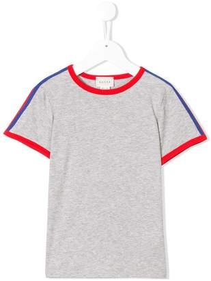 Gucci Kids side panelled T-shirt