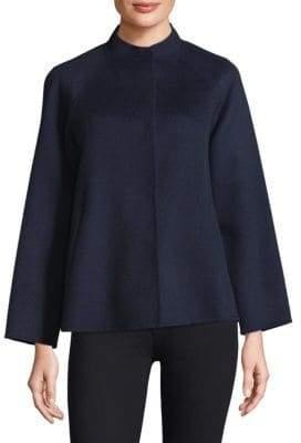 Max Mara Foligno Doppio Wool-Blend Short Coat