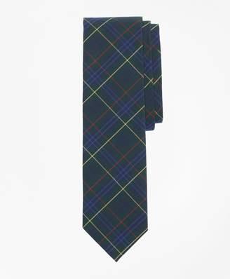 Brooks Brothers Plaid Cotton Broadcloth Tie